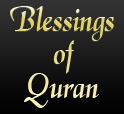 Blessings Of Quran